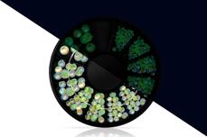 Jolifin LAVENI Strass-Display - Nightshine candy mint