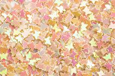 Jolifin Glitter Butterfly peach