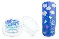 Jolifin Glitter Butterfly hellblau