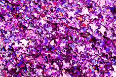 Jolifin Glitter Butterfly lila