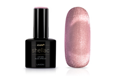 Jolifin LAVENI Shellac - Cat-Eye nude apricot 12ml