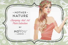 MoYou-London Schablone Flower Power Collection 19