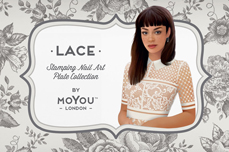 MoYou-London Schablone Lace Collection 01