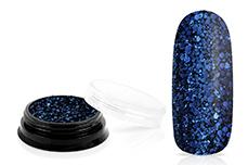 Jolifin LAVENI Sparkle Glitter - deep blue