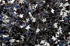 Jolifin Glitter Butterfly schwarz