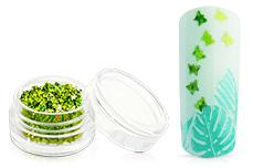 Jolifin Glitter Butterfly grün
