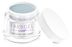 Jolifin Wetlook Farbgel grey-mint 5ml