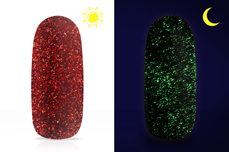 Jolifin LAVENI Diamond Dust - Nightshine carpet red