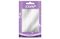 Jolifin Aurora Sticker - Stripes silver chrome