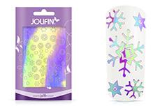 Jolifin Aurora Sticker - Snowflakes Cosmos