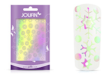 Jolifin Aurora Sticker - Snowflakes diamond