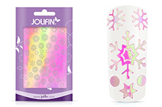 Jolifin Aurora Sticker - Snowflakes sweet candy