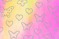 Jolifin Aurora Sticker - Butterfly Mix sweet candy
