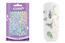 Jolifin Aurora Sticker - Butterfly Mix silver Galaxy