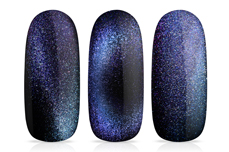 Jolifin LAVENI Shellac - Cat-Eye 9D FlipFlop ocean & lilac 12ml