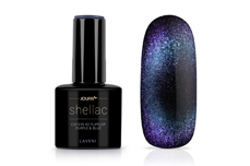 Jolifin LAVENI Shellac - Cat-Eye 9D FlipFlop purple & blue 12ml
