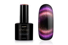 Jolifin LAVENI Shellac - Cat-Eye 9D FlipFlop peach & magenta 12ml