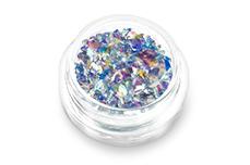 Jolifin Glitter Flakes blau