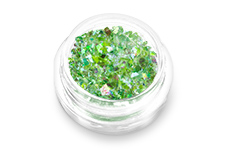 Jolifin Glitter Flakes grün