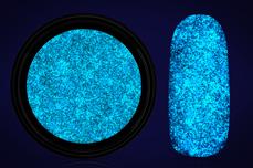 Jolifin LAVENI Nightshine Glitter - pastell-blue