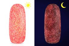 Jolifin LAVENI Nightshine Glitter - neon-coral