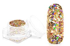Jolifin Unicorn Glitter - gold