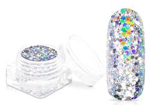 Jolifin Unicorn Glitter - silver