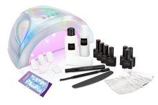 Jolifin LAVENI Shellac Starter-Set Christmas Premium - white mermaid