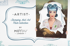 MoYou-London Schablone Artist Collection 27