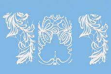 Jolifin LAVENI White Elegance Tattoo Nr. 16