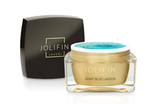 Jolifin LAVENI Farbgel - shiny blue lagoon 5ml