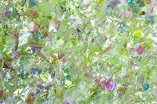 Jolifin Glitter Flakes hellgrün