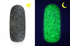 Jolifin LAVENI Diamond Dust - Nightshine black hologramm