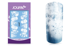 Jolifin LAVENI Shellac Starter-Set Christmas Premium - türkis mermaid