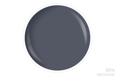 Jolifin LAVENI Nagellack - dark grey 9ml