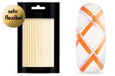 Jolifin LAVENI XL Sticker - Stripes neon-orange