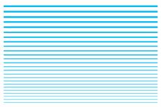 Jolifin LAVENI XL Sticker - Stripes neon-blue