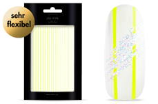 Jolifin LAVENI XL Sticker - Stripes neon-yellow