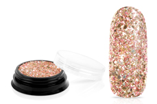 Jolifin LAVENI Luxury Glitter - luxury rose