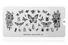 MoYou-London Schablone Botanical Collection 04