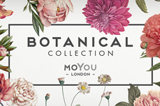 MoYou-London Schablone Botanical Collection 04