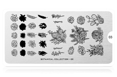 MoYou-London Schablone Botanical Collection 03