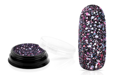 Jolifin LAVENI Luxury Glitter - black rose