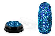 Jolifin LAVENI Luxury Glitter - türkis blue