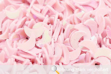 Jolifin Glitter Moon rosa