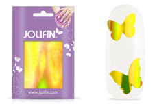 Jolifin Aurora Sticker - Butterfly sunshine