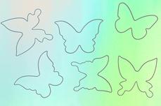Jolifin Aurora Sticker - Butterfly diamond