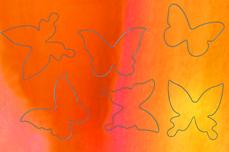 Jolifin Aurora Sticker - Butterfly sunset