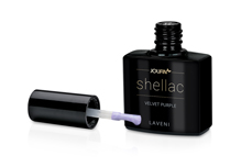 Jolifin LAVENI Shellac - velvet purple 12ml