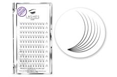 Premium MixBox - 6D Wimpernfächer D-Curl 0,07